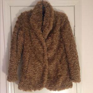 Caramel Teddy Coat